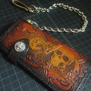 Long Wallet: Custom Ripper with Fleurish