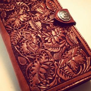Custom Wallet: Floral Ladies Clutch