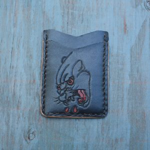 Flash Card Wallet: Black Panther