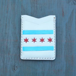 Flash Card Wallet: Chicago Flag
