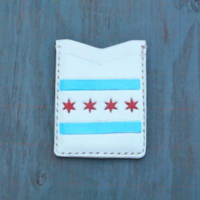 Flash Card Wallet: Chicago Flag