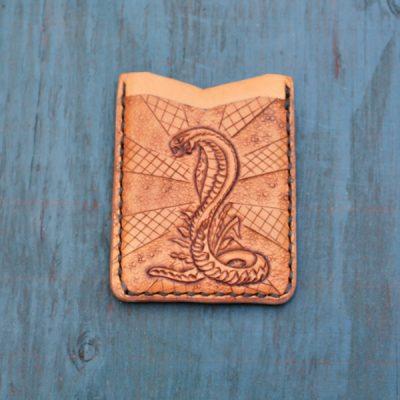 Flash Card Wallet: Cobra
