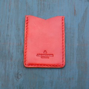 Flash Card Wallet: Red Diamond