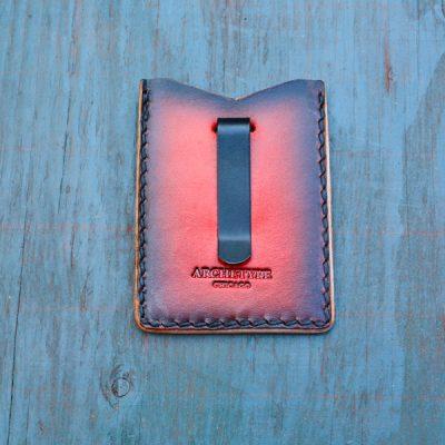 Flash Card Wallet: Red Skull