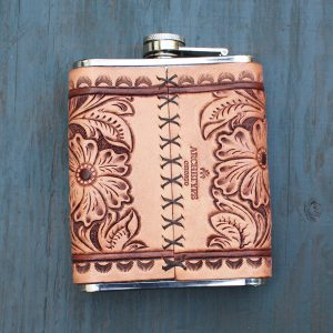 Flask: Sheridan Floral