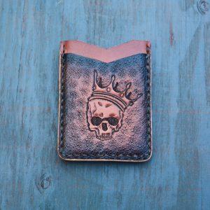 Flash Card Wallet: Skeleton King
