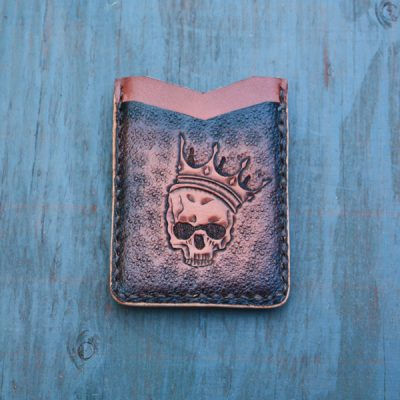 Flash Card Wallet: Skeleton King