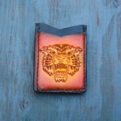 Flash Card Wallet: Roaring Tiger