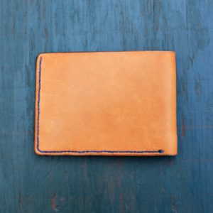 Billfold: Essex w/Blue Stitching