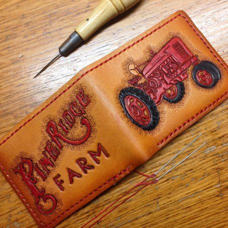 Custom Billfold Wallet