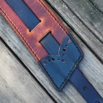 Brogued 3-Piece Strap Pad Detail