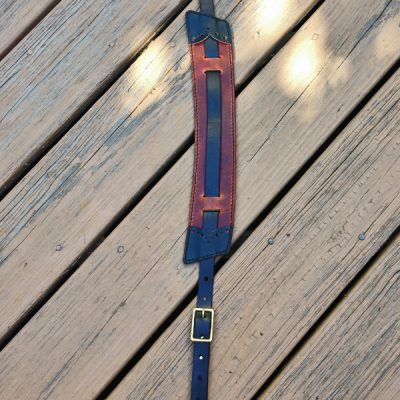 Brogued 3-Piece Strap