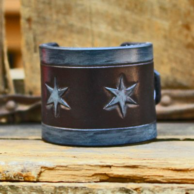 Chicago Cuff Black & Grey