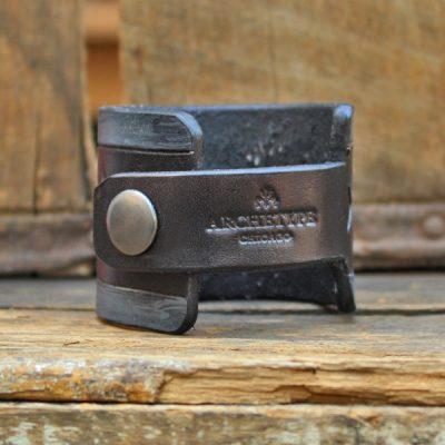 Chicago Cuff Black & Grey Makers Mark