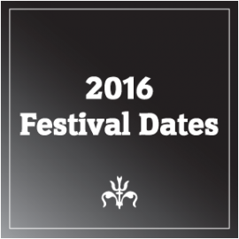 New 2016 Festival Dates Added!