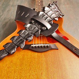 Custom Wide Guitar Straps