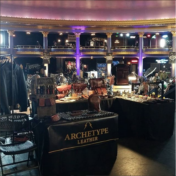 Archetype Leather Booth